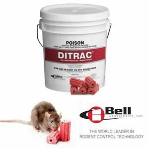 DITRAC BLOX 1.8kg - Rodent Poison Mouse Mice Rat Bait Killer Brodifacoum Blocks