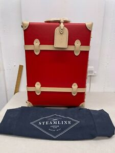 Steamline Luggage - The Jetsetter Carryon - Red