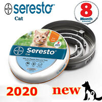 Bayer Seresto flea and tick collar for cats NEW US STOCK