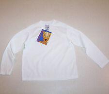 Kid's White Garanimals Long Sleeve Knit T-Shirt 5