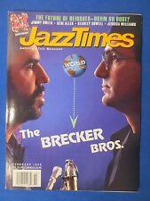JAZZ TIMES MAGAZINE FEBRUARY 1995 BRECKER BROTHERS JIMMY SMITH GERI ALLEN COWELL