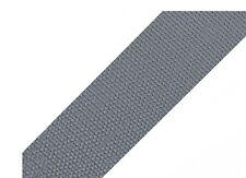 1 Meter Taschengurt - Gurtband aus Polypropylen - 50 mm - grau