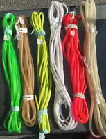 BULK LOT Surge Tubing 25' Long (Choice of Colors) for Saltwater Fishing Lures