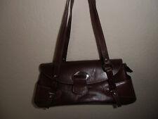 922eaa3000e6a NEU Handtasche Leder Italienisch Braun - interessante eigenwillige Form -  NEU