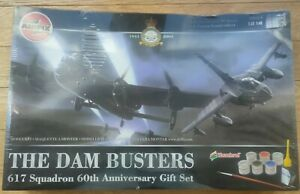 AIRFIX DAM BUSTERS 617 SQUADRON 60TH ANNIVERSARY GIFT SET NEW SEALED 10998