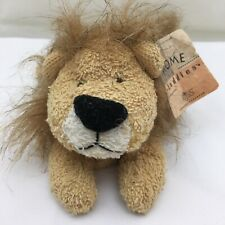 """Zulu Lion Terry Cloth King Of The Jungle WT Vintage Russ Plush 7"""" Toy Lovey"""