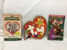 LOT of 3 TY BEANIE BABIES PRICE INFO GUIDES HANDBOOK COLLECTORS COUNTERFEIT 1998
