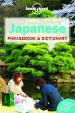 LONELY PLANET JAPANESE PHRASEBOOK & DICTIONARY - NEW