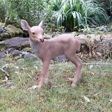 Gartenfigur Gartendeko Reh Rehkitz Bambi Wald Förster Natur Dekoration 5963