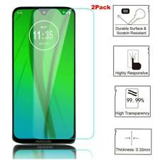 2Pack For Motorola Moto G7 Plus Tempered Glass Screen Protector Film Cover Skins