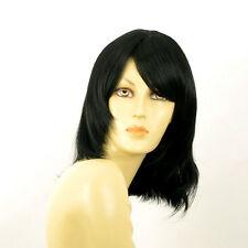 Parrucca donna semi lunga nero : ODELIA 1B