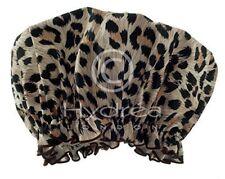 Hydrea Londra Cuffia Per La Doccia Peva, Stampa Leopardo Eco Friendly (Y1j)