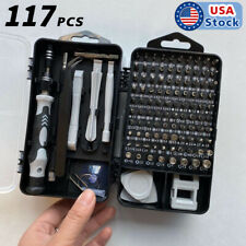 117 in 1 Magnetic Precision Screwdriver Set PC Phone Electronics Repair Tool Kit