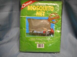 """COGHLAN'S RECTANGULAR MOSQUITO INSECT NET POLYESTER SIZE 32X78X59"""" NIP"""