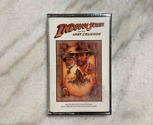 DISNEY - Indiana Jones the Last Crusade Original Soundtrack Audio Cassette Tape