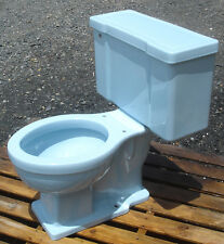 VINTAGE 1950 POWDER BLUE TOILET BY BRIGGS - COMPLETE- FREIGHT AVAILABLE!