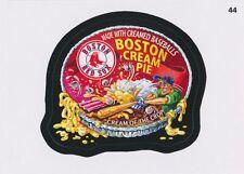 2016 TOPPS WACKY PACKAGES MLB - BOSTON RED SOX BOSTON CREAM PIE - STICKER #44