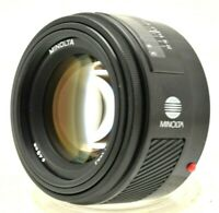 Minolta 50mm F/1.4 Lens for Sony Alpha / Minolta AF mount Film or Digital SLR