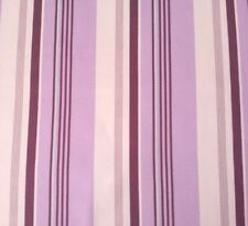 "Classica Sateen Rain Annette Tatum FreeSpirit BTY Stripe Plum Ivory 54"" Wide"