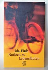 *r~ NOTIZEN zu Lebensläufen  - von Ida Fink (2000, Taschenbuch)