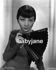 002 ANNA MAY WONG PORTRAIT HOLDING A FAN PHOTO