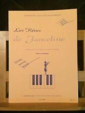 Gallois-Montbrun Rêves de Janceline Polka rossignol partition violon piano Leduc