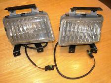 OPEL KADETTE E Vauxhall ASTRA Mk2 Front Fog Lights Lamps New Old Stock