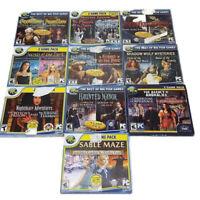 Hidden Object 10 CD/DVD 20 Game Lot Big Fish Phantom Beast Redemption Nightmare