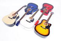 41 Zoll Westerngitarre mit Cutaway, 6 verschiedene Farben