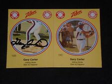 HOF GARY CARTER 1982 ZELLERS PANEL SIGNED AUTOGRAPHED CARD MONTREAL EXPOS