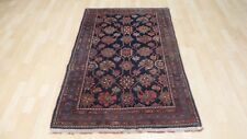 PERSIAN  Prayer CARPET RUG HAND MADE Antique WOOL traditional 5ft x 3ft 3""