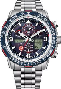 Citizen ProMaster Skyhawk AT SnowBirds ST Steel Blue Dial Men's Watch JY8071-51L