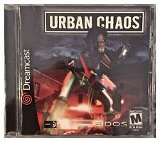 Urban Chaos (Sega Dreamcast, 2000) BRAND NEW SEALED - FREE U.S. SHIPPING - NICE