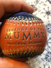 RARE REVENGE OF THE MUMMY UNIVERSAL STUDIOS PROMO PHOTO BASEBALL BALL BRAND NEW