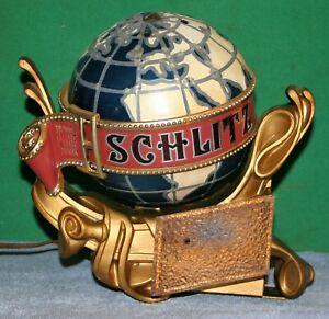 Vintage Schlitz Beer Advertising Light Display 1976 Jos Schlitz Brewing Co