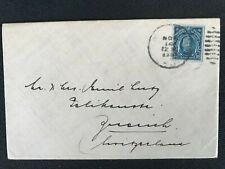 c 1928 PHILIPPINES MANILA TO ZURICH SWITZERLAND SMALL CLEAN COVER F/W 10c LAWTON