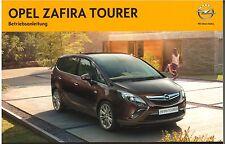 Bedienungsanleitung Opel Zafira C Tourer, Ausgabe 01/2013 (neu) #baz01/2013