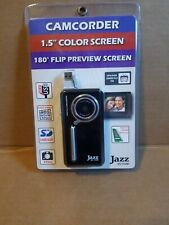 JAZZ DV152M Digital Camcorder with USB Connectivity 128MB 30fps SD Slot