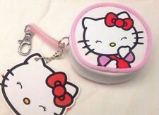Hello Kitty - Sanrio - Portamonete oggetti 8cm Gancio Molla Bianco - Cartorama