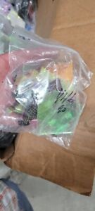 Dichroic Glass CBS 90 COE clear and black glass scrap pack all nice glass 1 lb