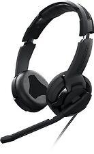 ROCCAT KULO Stereo Gaming Headset - Headphones w/Microphone, Black (ROC-14-602)