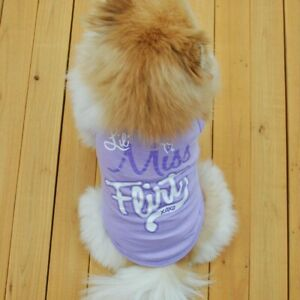 Boy Dog Clothing Puppy Vest Girl Pet Clothes for chihuahua yorkie Shih Tzu Cat