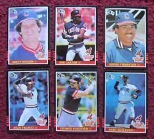 1985 Donruss Cleveland Indians Baseball Team Set (23 Cards) ~ Joe Carter ++