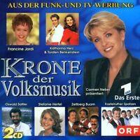 Krone der Volksmusik (1999, Carmen Nebel) Kastelruther Spatzen, Stefani.. [2 CD]