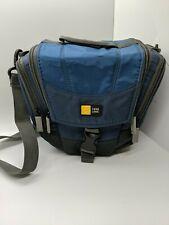 Case Logic Camera Holster Bag Over The Arm Case Blue Adjustable Strap