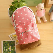 Cute School BBag Like Cosmetic Makeup Pencil Case  Wash Toiletry Pouch Purse