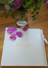 New In Box ♡ Wedding Guest Book And Pen