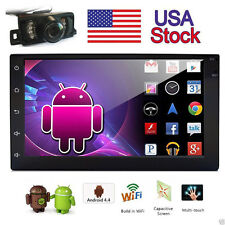 """7"""" Android 6.0 3G-WIFI 2Din Car Stereo Radio In Dash PC Tablet BT GPS Nav+Camera"""