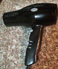 Revelon Small,  Lightweight Black Hair Dryer Styler 2-Speed/Heat Setting!
