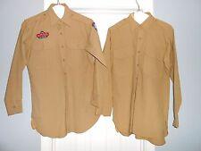 Lot of 2 Mens Size 14 1/2 - 32 USAF Auxilary Air Patrol Uniform Shirts Dress
